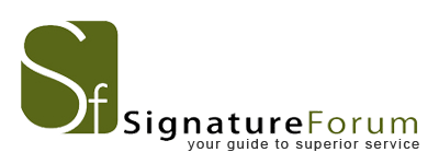 SignatureForum is a consumer advocacy group and online resource