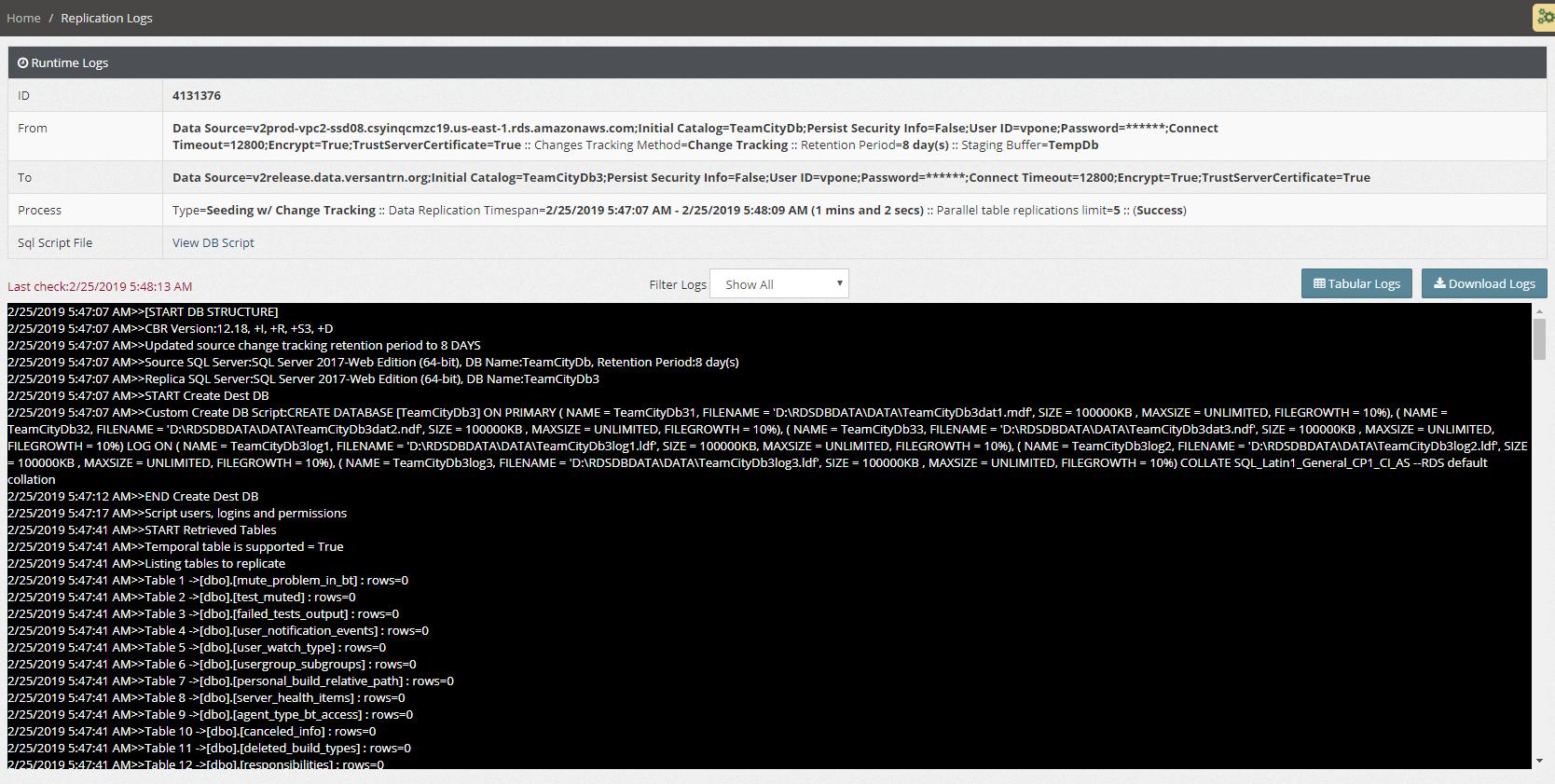 SQL Server to SQL Server replication - CloudBasic
